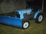 ISEKI 13KM mini traktor 4x4 PŁUG DO ŚNIEGU YANMAR