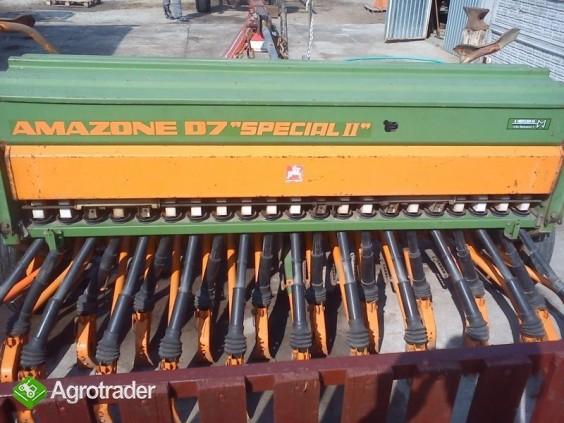 Siewnik amazone D7 special II i brona wirnikowa