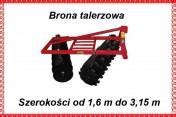 BRONA TALERZOWA 1,6 M 1,8 M 2,0 M 2,2 M 2,4 M RA