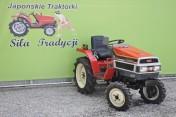 Mini traktorek Yanmar F165D 16KM 4x4