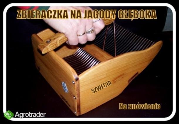 zbieraczka - maszynka -kombajn do jagód i borówek - zdjęcie 4