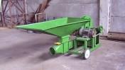 Dmuchawa do zboża wydajność 6-7 t/h silnik 7,5 KW.