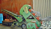 Maszyna do przewietrzania i załadunku zbóż