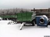 Przyczepa wywrotka jedno-osiowa 3/4 ton.