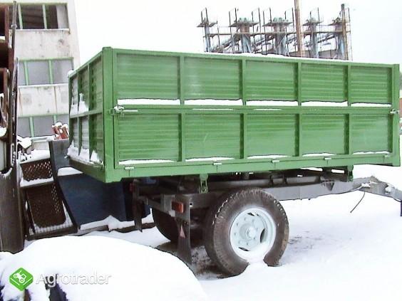 Przyczepa wywrotka jedno-osiowa 3/4 ton. - zdjęcie 2