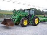 John Deere 7510 4x4 Ciągnika rolniczego z JD740 Loader