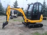 JCB 8018 2010 19KM 1000mth MINIKOPARKA GWARANCJA