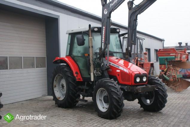 Ciągniki rolnicze MASSEY FERGUSON 5455+ŁADOWACZ FAUCHEUX Renault  - zdjęcie 5