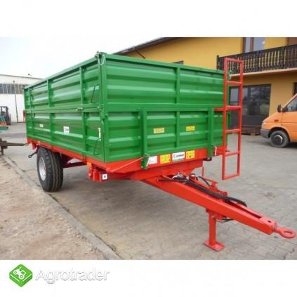 Przyczepa przyczepy rolnicza jednoosiowa GOMAR GPJ 103/1 - zdjęcie 1