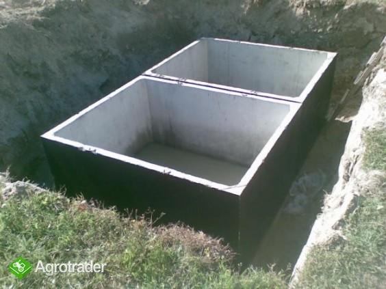 szamba betonowe z atestem i 2-letnią gwarancją, transportem, montażem - zdjęcie 4