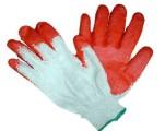 Rękawice robocze - wampirki, dziane powlekane gumą