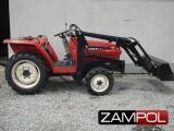 traktorek Iseki TA207 z ładowaczem czołowym