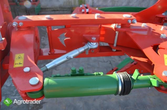 Pług obrotowy obracalny Pługi zabezpieczenie hydrauliczne Agro-Masz - zdjęcie 3