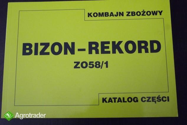 Katalog części do kombajnu zbożowego,instrukcji obsługi napraw BIZON