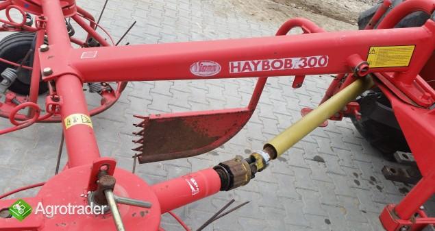 Przewracarka przetrząsarka do siana HAYBOB 300 - zdjęcie 5