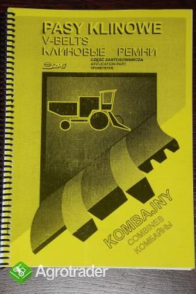 Pasy klinowe do kombajnów - KATALOG