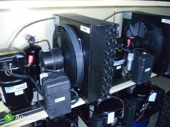 Agregaty chłodnicze chłodnice powietrza sprężarka chłodnicza chłodnia  - zdjęcie 2
