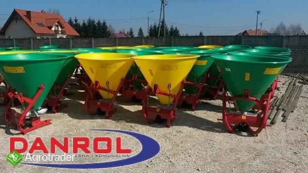 Rozsiewacz nawozów lejek 300 litrów Gras- Rol