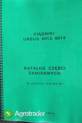 Katalog części zamiennych URSUS 6012/6014