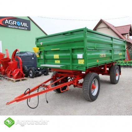 Przyczepa rolnicza ciężarowa 6 ton HL 6011 jak nowa okazja - zdjęcie 3