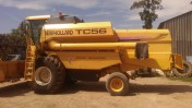 New holland tc 56 1998r podobny jak bizon rekord