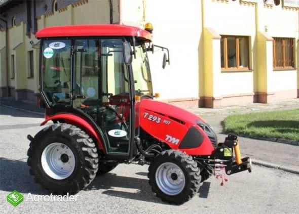 ciągnik rolniczy komunalny pomocniczy TYM T293 HST sprzedaż  - zdjęcie 4