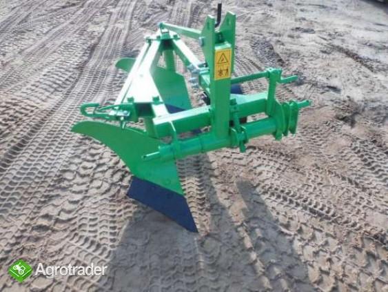 Pług do orania 2- skibowy mini traktorek kubota hinomoto yanmar iseki  - zdjęcie 1