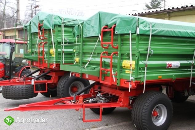 Przyczepa rolnicza Pronar T653/2 nowa promocja trójstronna wywrotka - zdjęcie 2