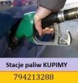 Stacje paliw - zachodnia część Polski , teren przygraniczny