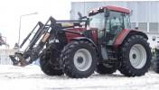 Ciągnik rolniczy CASE MX 110 + WOM + TUZ + ŁADOWACZ - 2002 ROK