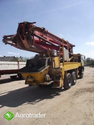Pompa do betonu 32 m usługi wynajem dzierżawa - zdjęcie 1