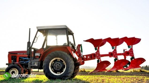 Pług pługi obrotowy obracalny mały Agro-Masz zabezpieczenie zrywalne - zdjęcie 4