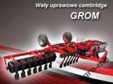 Wały uprawowe Wał uprawowy cambridge Grom Agro-Factory
