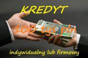 Kredyt indywidualny lub firmowy do 100 tys pln