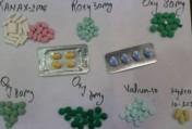 Methylone, JWH-018, Mephedrone, Ketamine, MDMA and Ethylone