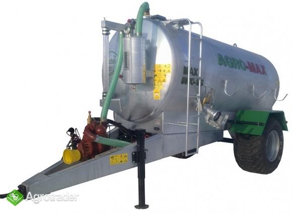 Beczkowóz wóz asenizacyjny jednoosiowy agro-max  - zdjęcie 2