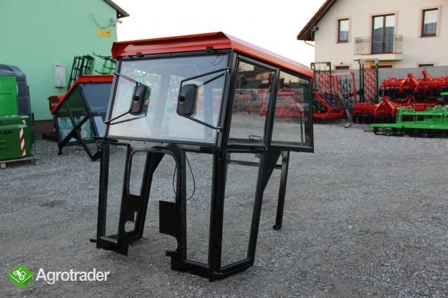 Kabina ciągnikowa do ciągnika MF 235 255 LUX z błotnikami CE - zdjęcie 7