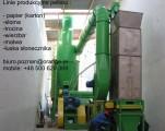 Linie do produkcji pellets z papieru (kartonu)i in
