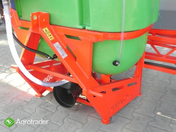 Opryskiwacz 300 litrów lanca 10m głowice podwójne V Cyklon Nowy - zdjęcie 2
