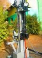 Łuparka hydrauliczna nacisk 18 T. Napęd z WOM ciągnika, 135 cm