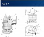 Rotator - obrót do chwytaka Indexator GV 6