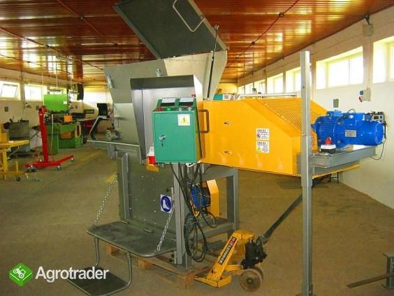 Rozdrabniacz, STRUGARKA  do nieforemnych odpadów 11 kW, HEBLER W-1 - zdjęcie 1