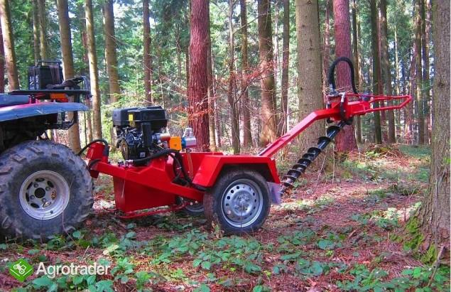 Wiertnica hydrauliczna glebowa o napędzie spalinowym 13 KM,  - zdjęcie 5