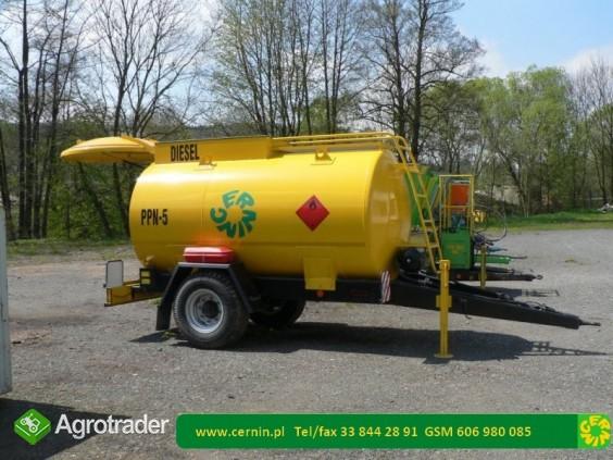 Zbiornik na paliwo na przyczepie z dystrybutorem  - zdjęcie 4