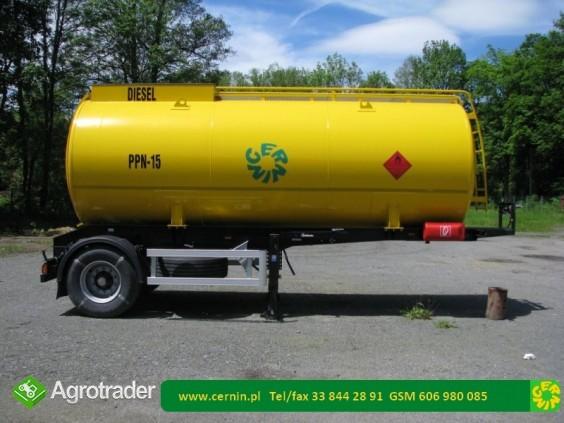Zbiornik na paliwo 5000 litrów na przyczepie  - zdjęcie 4