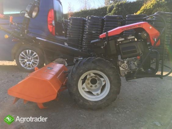Traktorek jednoosiowy z glebogryzarką Goldoni 15SR - zdjęcie 5