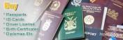 Wysokiej jakości paszporty, prawa jazdy, dowody osobiste, wizy (bestdo