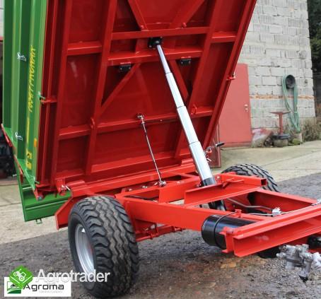 Wywrotka rolnicza Pronar T 654/1 przyczepa jednoosiowa 3,5t - zdjęcie 5
