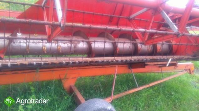 Heder z wozkiem Deutz-Fahr szerokosc 4,8 - zdjęcie 2
