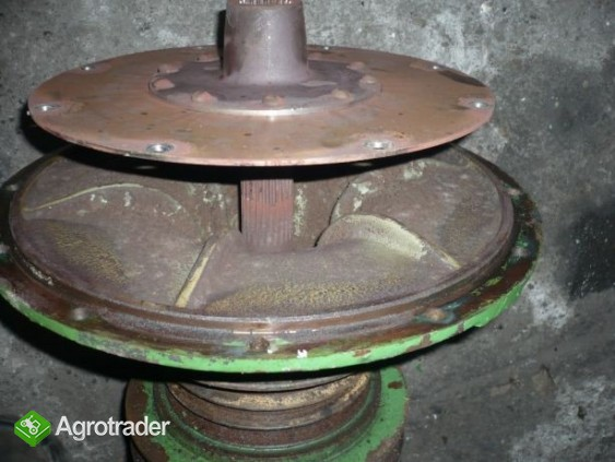 Przystawka silnika tarcza koła pasowe John Deere 1065,1075,1174,1177 - zdjęcie 2